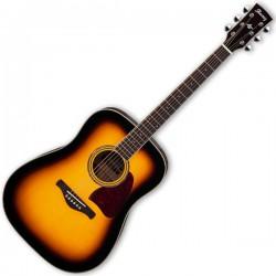 Ibanez AW300 akustisk Artwood Guitar, Vintage Burst