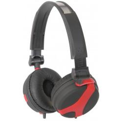 Hovedtelefon QX40 STEREO HEADPHONES RED