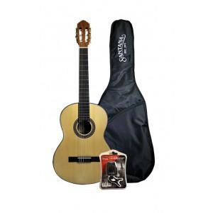 Santana Guitarpakke  Natur Satin