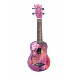 Flight Sopran Ukulele Elvis Romantic design m/bag