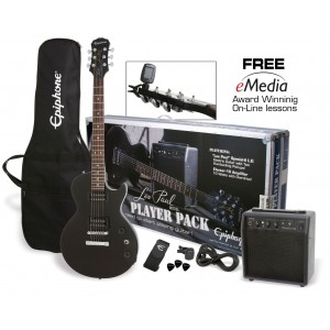 Epiphone Les Paul Player Pack Ebony