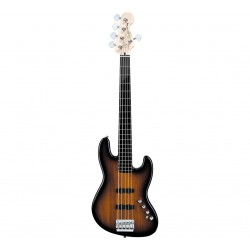 Squier by Fender Deluxe J-Bass V  Sunburst eller Black