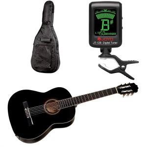 Yamaha Guitar CG 40 Sort Pakketilbud