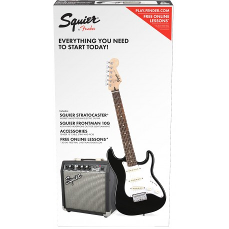 Squier by Fender Affinity Pack 1 Black