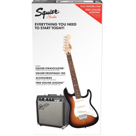 Squier by Fender Affinity Pack 1 Sunburst