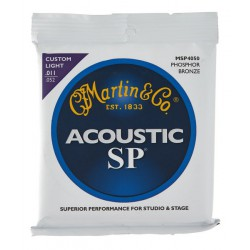 Martin Guitar Strenge  011-052  MSP4050