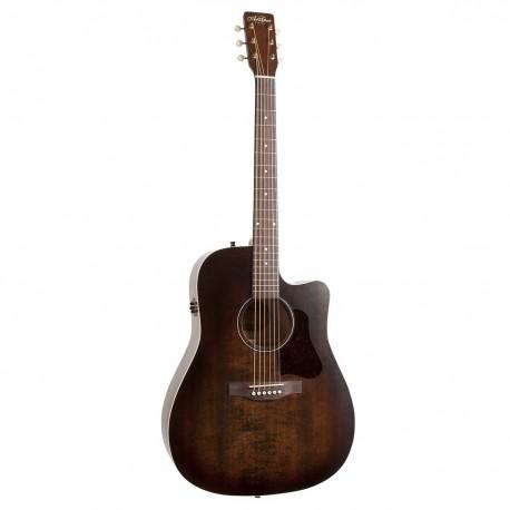Art & Lutherie Americana Cutaway Electro Akustisk Guitar, Bourbon