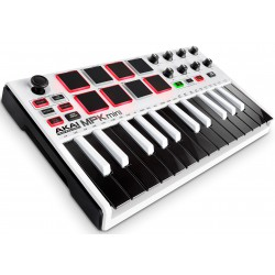 Akai MPK Mini Mk2 Ltd. Ed. White