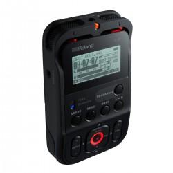 Roland R-07 høj opløsning Audio Recorder, sort