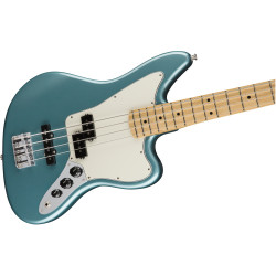 Player Jaguar® Bass, Maple Fingerboard, Tidepool
