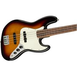 Player Jazz Bass® Fretless, Pau Ferro Fingerboard, 3-Color Sunburst