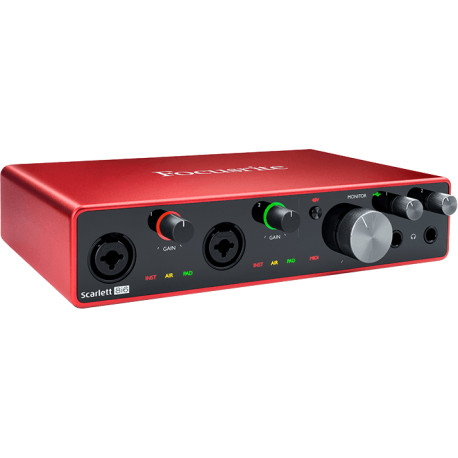 Focusrite  SCARLETT3-8I6  8 in/6 out USB-C