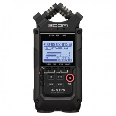 Zoom H4n Pro Handy-optager, Sort