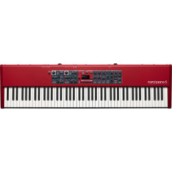 NORD PIANO5 88  88-note Triple Sensor keybed with grand weighted action