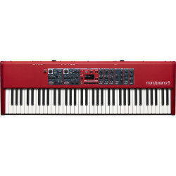 NORD PIANO5 73  73-note Triple Sensor keybed with grand weighted action